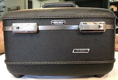 American Tourister Tri Taper Vintage Travel Suitcase Cosmetic Bag Luggage No Key