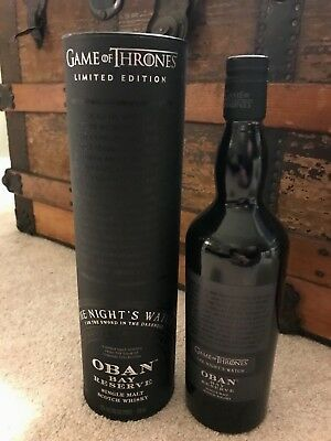 Game of Thrones - RARE - EXCLUSIVE - OBAN - The Night's Watch Whiksy