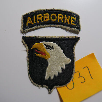 Orginial WW2 US Army 101st Airborne Division Patch No Glow WWII Band of Brothers
