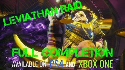 DESTINY 2 LEVIATHAN RAID 100% COMPLETION (Normal) PS4 / Xbox One / PC