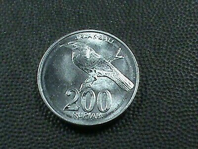 INDONESIA    200 Rupiah   2003   UNC   ,   $ 2.99  maximum  shipping  in  USA