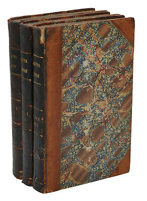 Oliver Twist ~ CHARLES DICKENS ~ First Edition 1st Printing ~ 1st Issue 1838 BOZ