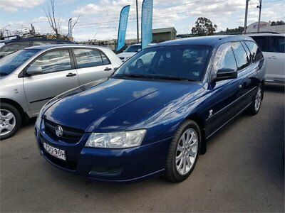 2005 Holden Commodore VZ Blue Wagon