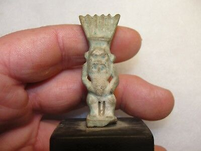 Ancient Egyptian Demon Statue 25-26 Dynasty 712-525 Bc