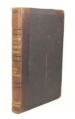 A Treatise on the Westinghouse Air Brake Engineer Antique Vtg Textbook Train !!!