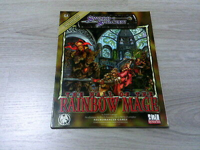 d20 G3 The Hall of the Rainbow Mage Adventure 2002 Sword & Sorcery WW8372 VG