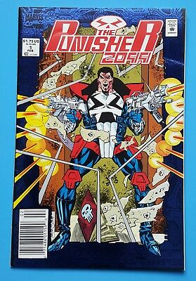 Punisher 2099 #1 NEWSSTAND UPC Barcode Edition MARVEL COMICS 1993