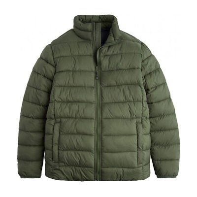 Joules Go To Lightweight Barrel Quilted Mens Jacket Synthetic Fill - Dark Khaki