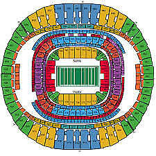 New Orleans SAINTS - Los Angeles RAMS Playoff Championship-2 tickets-01/20/2019