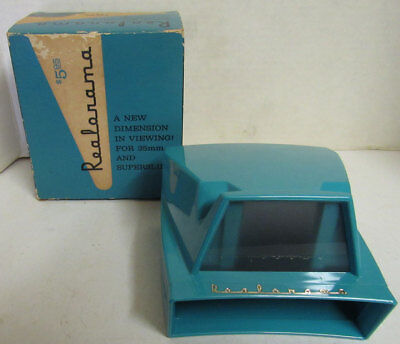 Awesome Realorama Regal Viewer For Viewing 35MM Slides By Realistic