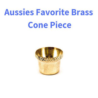 Small Bonza Brass Bucket Cone Pieces for Bongs Waterpipes Pipe Smoking Tobacco