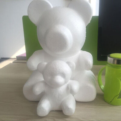 Polystyrene Styrofoam Foam Bear Modelling For DIY Valentine Party Decor Precious