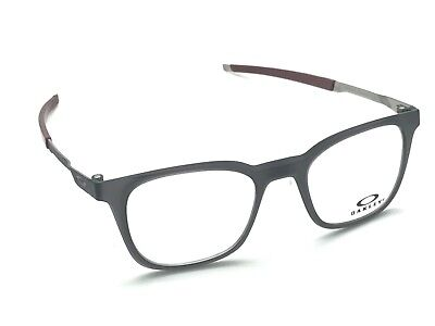 e80d0d07107 Oakley Steel Liner OX8103-0249 Matte Black Ink Square Eyeglasses 49-19 140  New