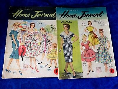 Two Vintage Home Journals 1958 & 1960 No Patterns