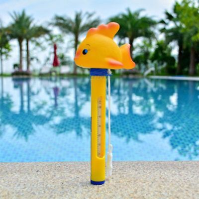 Cartoon Floating Thermometer For  Pools Spas Hot Tub Water Sensor Thermometers