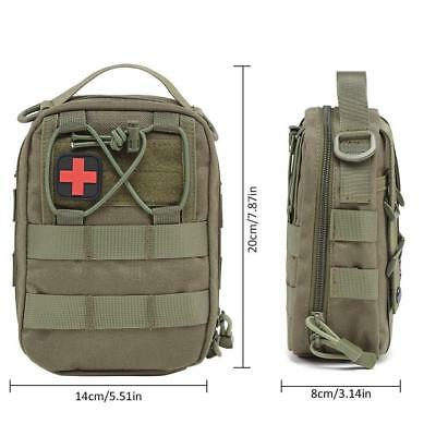 Tactical First Aid Medical Kit Tasche Molle EMT Outdoor Notfallkoffer 2019
