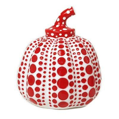 YAYOI KUSAMA - Pumpkin (White) - Resin sculpture - Japanese Contemporary, Modern