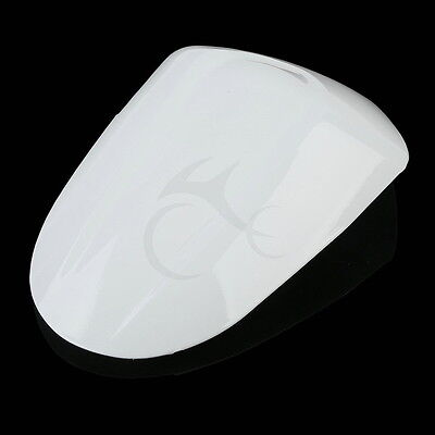 ABS Painted Rear Seat Cover Cowl White For Suzuki GSXR1000 GSX-R 1000 K5 2005-06