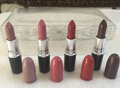 MAC Snow Ball Full Size Warm Lipstick Set Snownall Collection 2017 **AUTHENTIC**