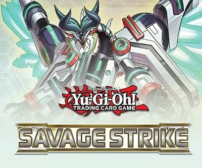 Yu-Gi-Oh Savage Strike -1st Edition Booster Box- Sealed (English) Factory Sealed