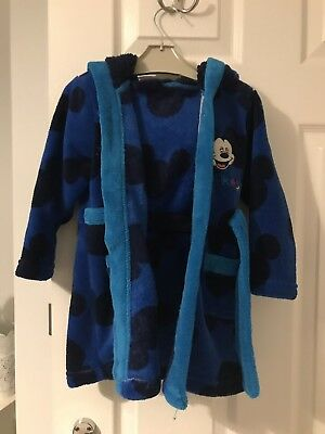 Boys Mickey Mouse Dressing Gown 18-23 Months