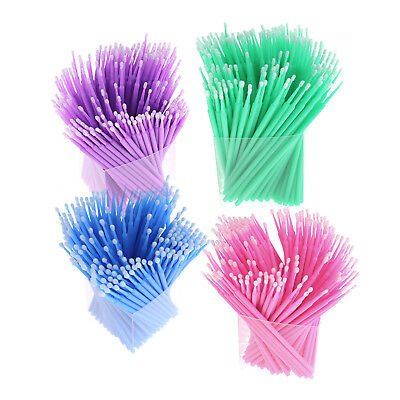 200X MIni Applicators Eyelash Swab Micro Brush Disposable Microbrush Makeup Kit