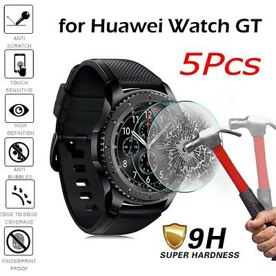 1-5Pcs Tempered Glass Screen Protector Film For Huawei Watch GT Smart watch CA