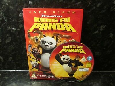 KUNG FU PANDA DVD Kids Family Comedy Movie Excellent Condition