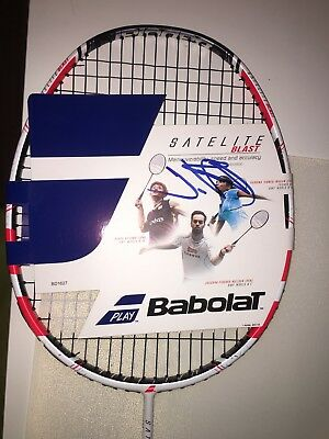New Babolat Satelite Blast Sports Equipment Badminton Racket Red