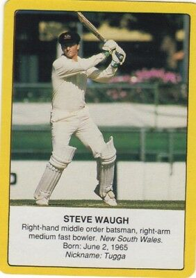 Cricket - Steve Waugh (batting) - Clashes for the Ashes
