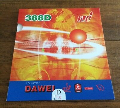 NEW Table Tennis Long Pimple Rubber Dawei 388D ITTF approved