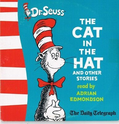 Dr Seuss - The Cat In The Hat And Other Stories Read By Adrian Edmondson CD N/P