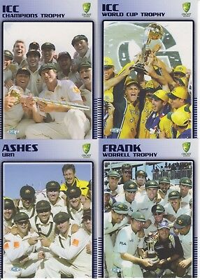Cricket trade cards. Elite Insert Set of Australia, 2003