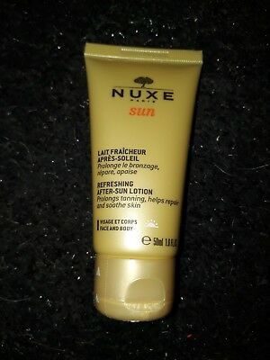Nuxe Paris Refreshing Aftersun Lotion 50ml New Sealed