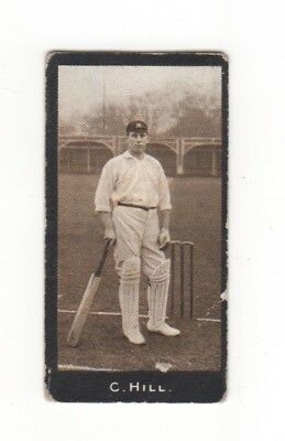 Rare 1912 Australian Cricket Card. Clement Hill (South Australia)