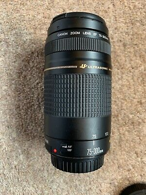 Canon EF 75-300mm f/4-5.6 II Ultrasonic Lens
