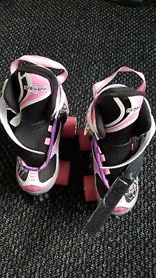 girls roller skates boots  size xs 29 -32