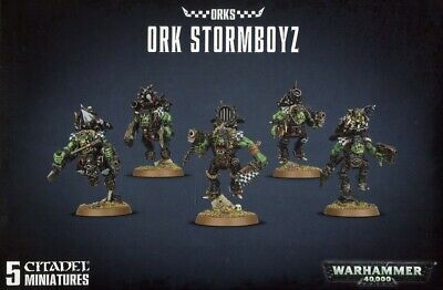 Ork Stormboyz Games Workshop Brand New 99120103056