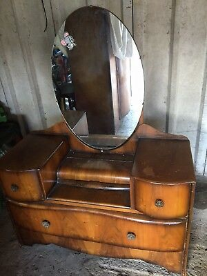 vintage 1940s  Dressing Table