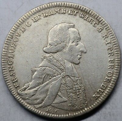 France Silver Coin 27.86g 477 Diameter 40.6 mm FRANC LUDOV D G