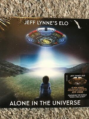 Jeff Lynne's ELO - Alone In The Universe - New Sealed Cd Album Digipack