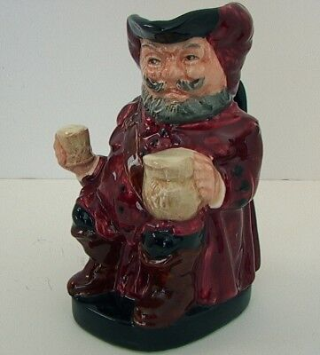 "Vintage 1956 ROYAL DOULTON 5.5"" Falstaff TOBY CHARACTER JUG Mint Condition"