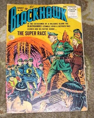 "1956 (1st Series) QUALITY COMICS ""Blackhawk"" #103 - The Super Race"