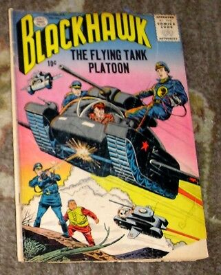 "1956 (1st Series) QUALITY COMICS ""Blackhawk"" #106 - The Flying Tank Platoon"