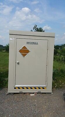 Securall Safety Storage Building, Model B400