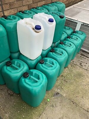 25 litre plastic water container