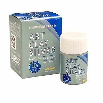 New Aida Chemical Industry Art Clay Silver paste type 10g Handctraft Japan