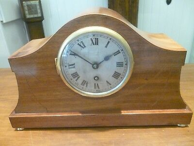 "Vintage Art Deco Bravington's ""The Renown"" 14 day Mantel Clock c.1920s"