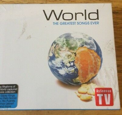World The Greatest Songs Ever by Various Artists CD Jun-2004 Time Life Music