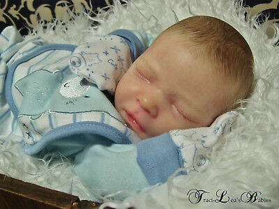 Realborn Darren. Gorgeous Reborn Baby Boy. Realistic Detail. So Real.